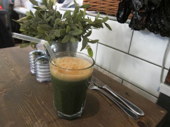 Green stuff is good for you
