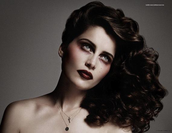 i-D Magazine Laetitia Casta in Laura Lee jewelry