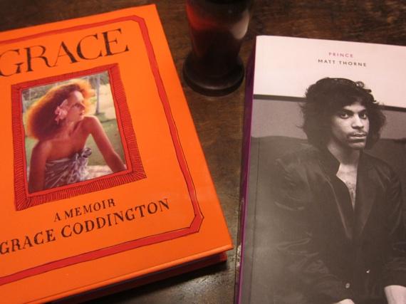 Grace Coddington´s memoir and Matt Thorne´s Prince now at Papercut Stockholm