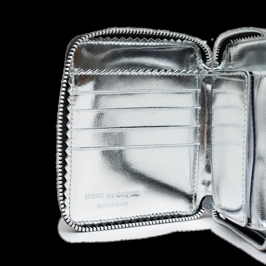 Full Zip Wallet -Mirror Inside
