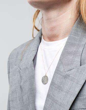 Reversible Luna Coin Necklace