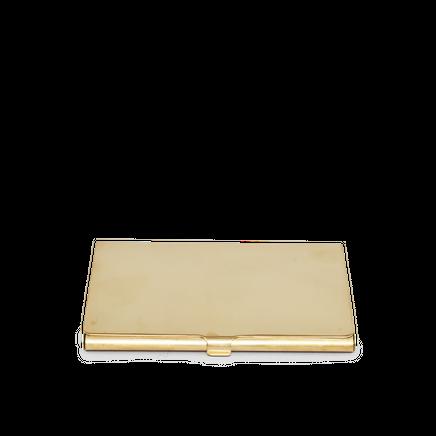 Brass Card Case