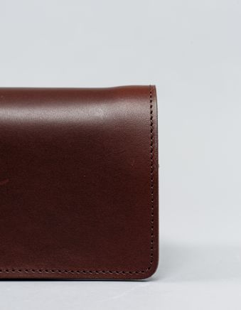 Leather Middle Wallet