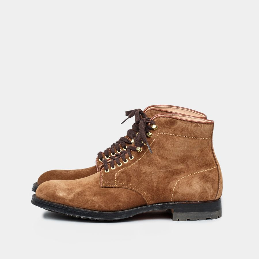 Plain Toe Suede Boot Commando