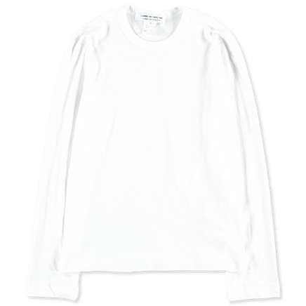 Cotton Jersey L/S T-Shirt