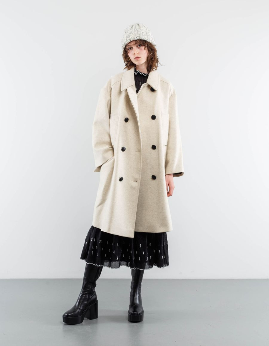 Isabel Marant Étoile Flicka Double Breasted Coat