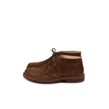 Astorflex Greenflex Suede Boot - Dk Khaki