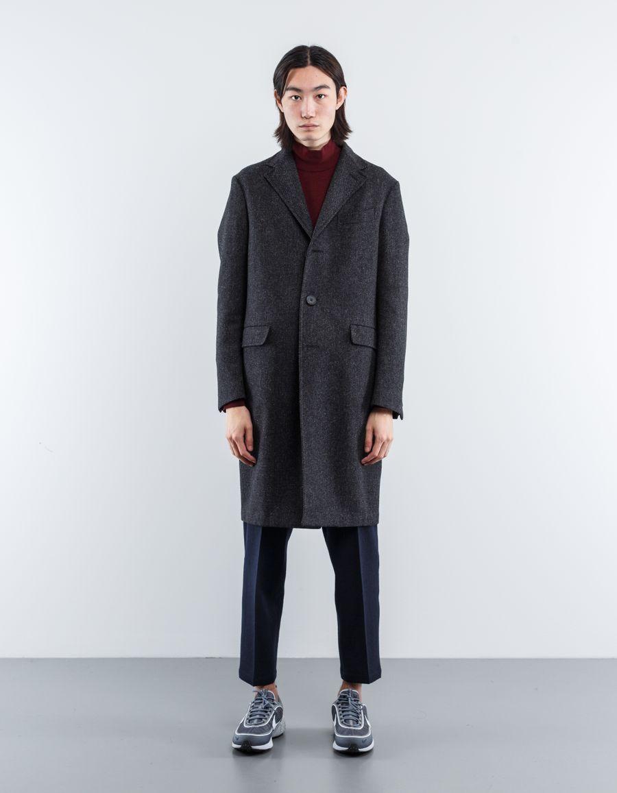 The Gigi  Goose Eye SB Wool Coat