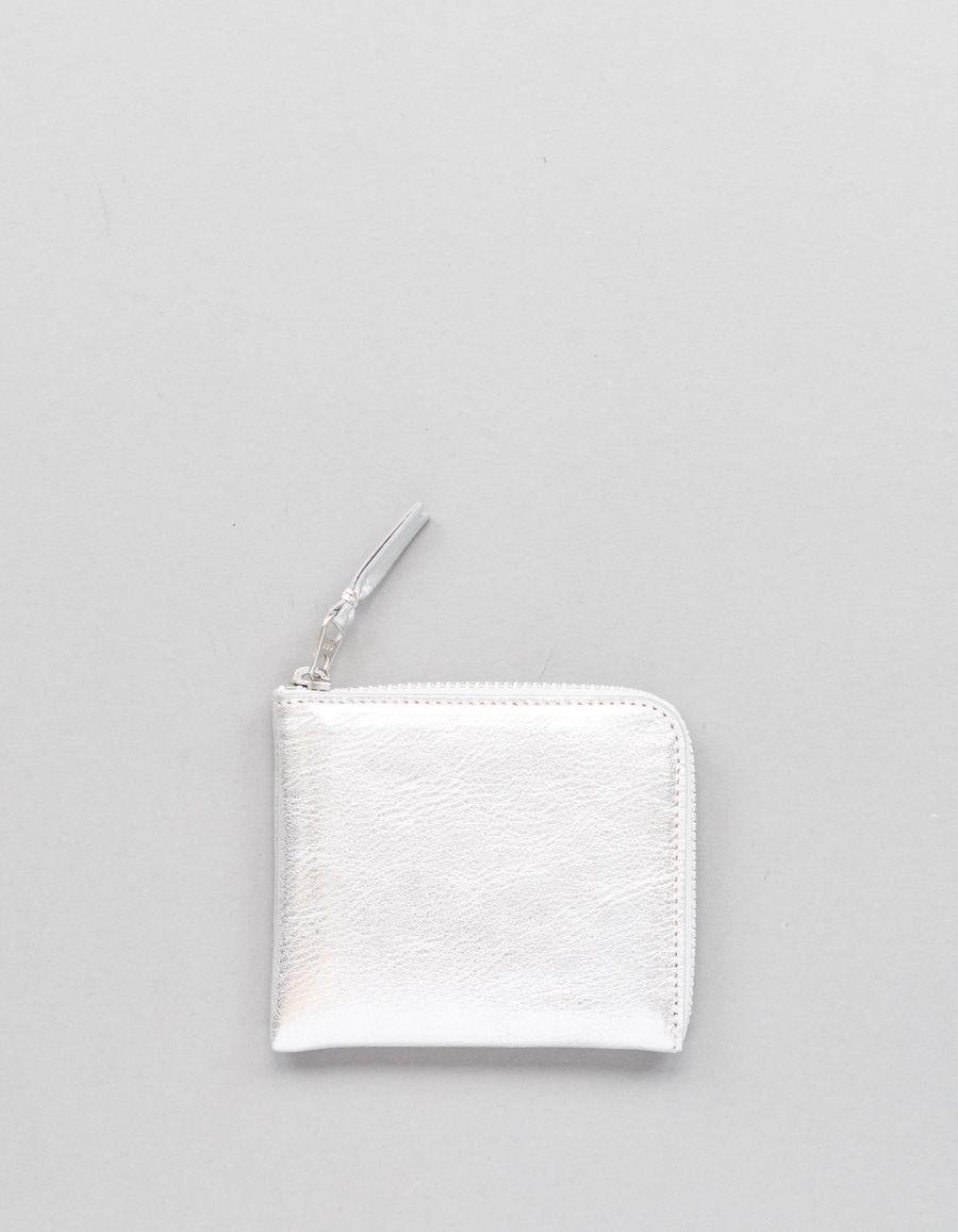 Comme des Garçons Wallet Half Zip Wallet