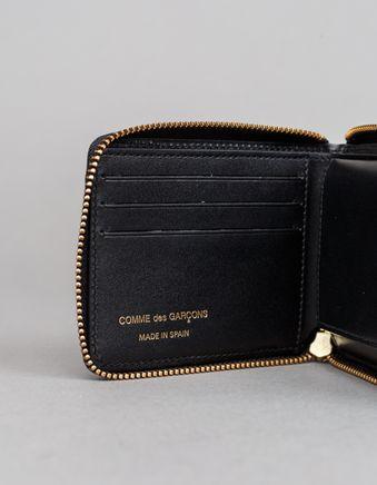 Full Zip Small Wallet - Tartan