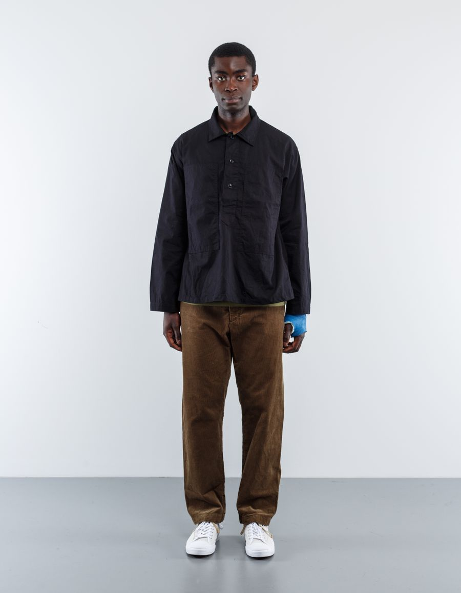 Engineered Garments  Workaday Ripstop Army Shirt Black