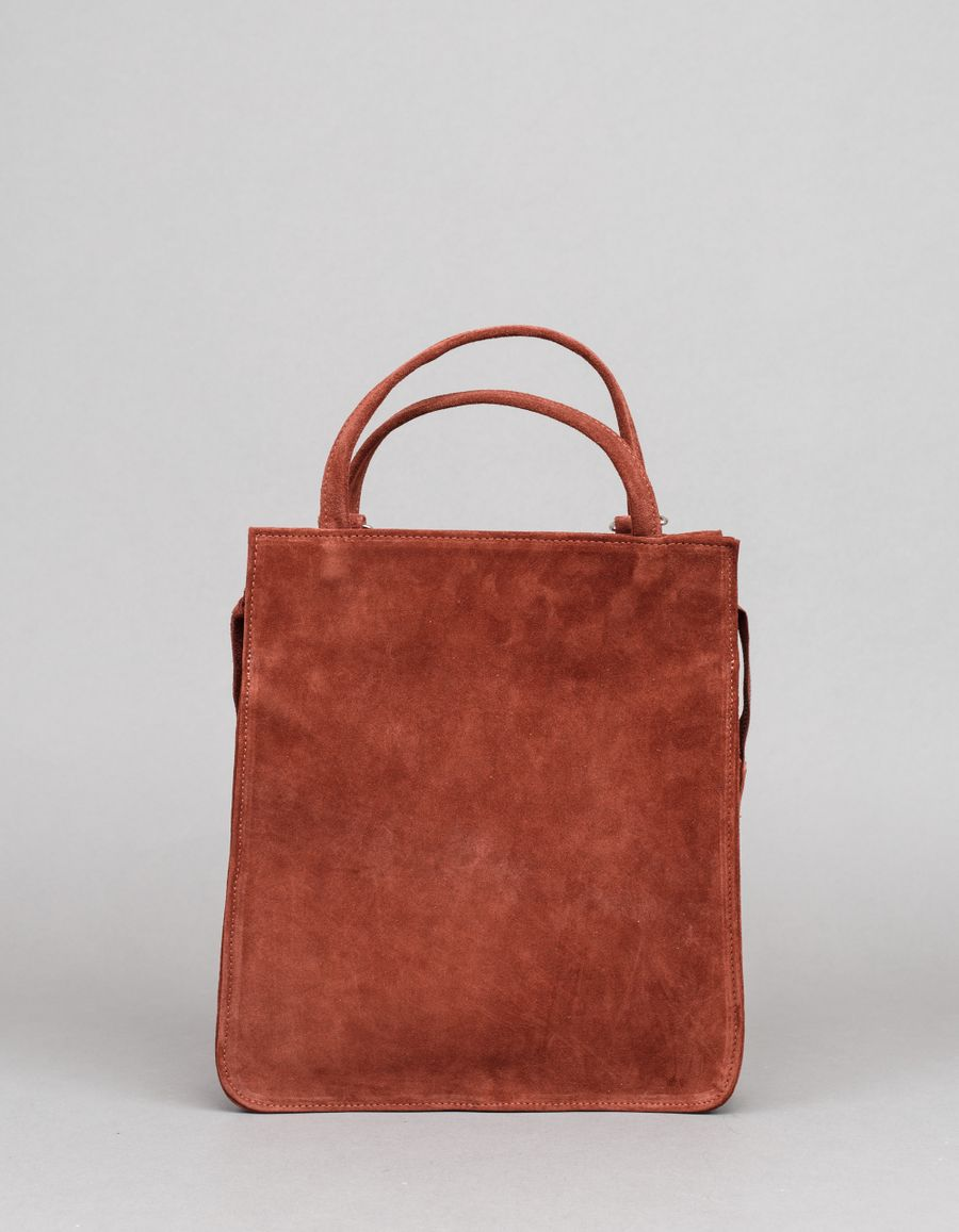 Clyde Best Bag Brick Suede