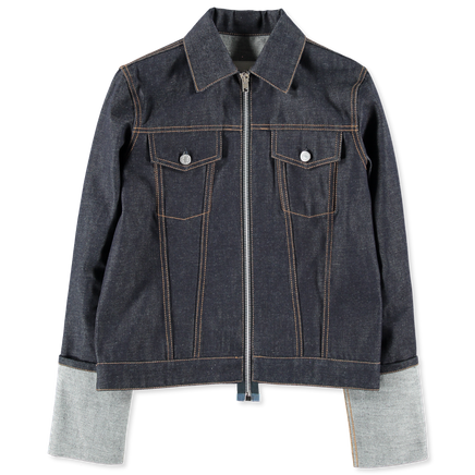 Zip Denim Jacket Re-Edition