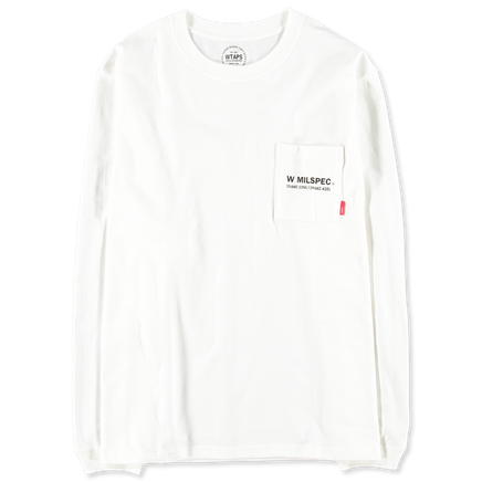 W MIL L/S Pocket T-Shirt