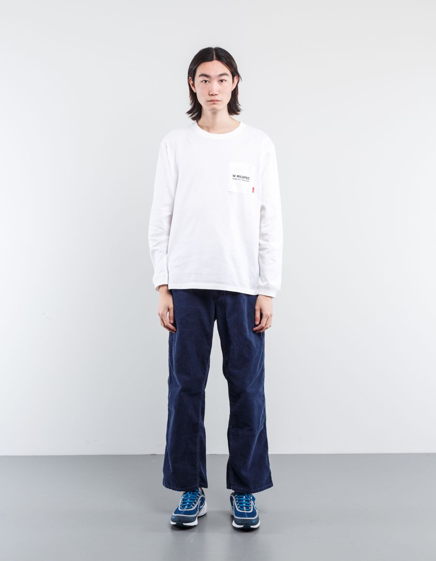 WTAPS W MIL L/S Pocket T-Shirt