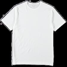 Sunspel Egyptian Cotton C-Neck T-Shirt - White
