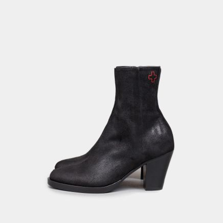 Classic Ankle Boot Waxed Suede
