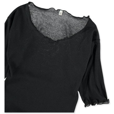Pama Top Rib 3/4 Sleeve
