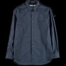 Comme des Garçons SHIRT Narrow Classic Poplin Shirt - Navy