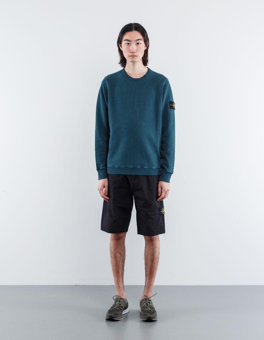 Stone Island 681565360 V0159 Garment Dyed Sweatshirt Musk