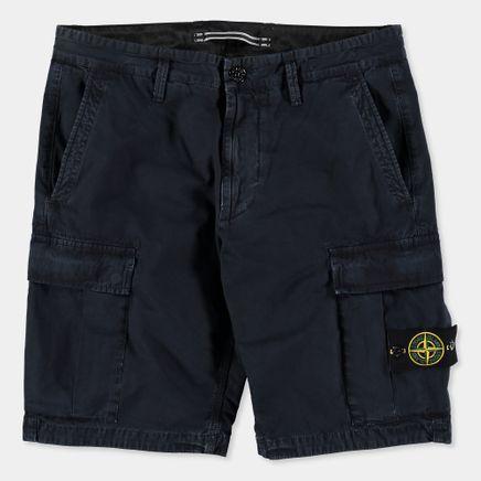 6815LS2WA V0120 Garment Dyed Cargo Bermuda Navy