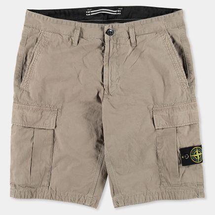 6815LS2WA V0192 Garment Dyed Cargo Bermuda Do Grey