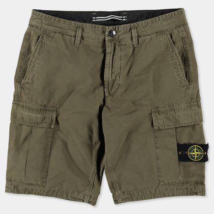 6815LS2WA V0154 Garment Dyed Cargo Bermuda Mi Green