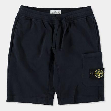 681560840 V0020 Fleece Bermuda Shorts Navy
