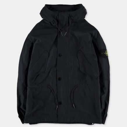 681541322 V0020 Micro Reps Short Hooded Parka Navy