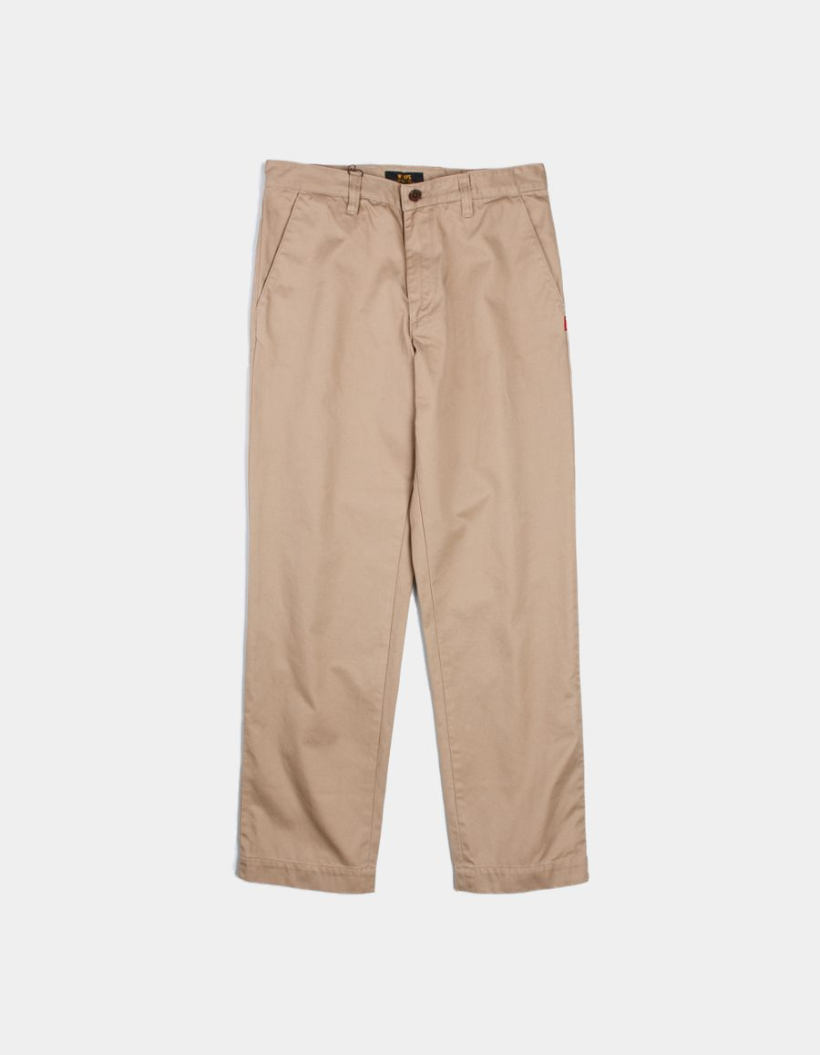 WTAPS KHAKI / TROUSERS COTTON CHINO