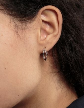 Three Bangles Left Earring