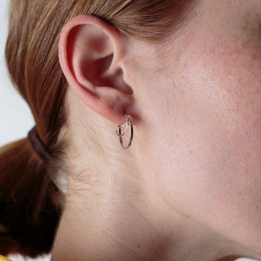Three Bangles Right Earing