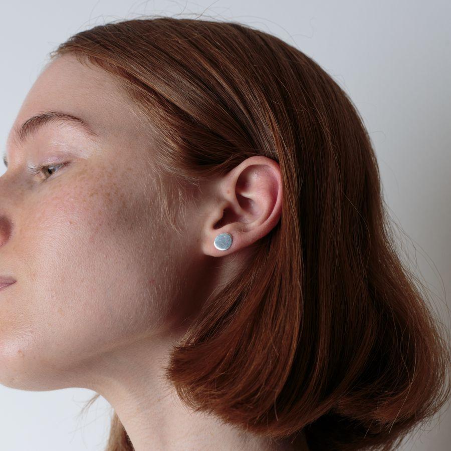 S Petal Earring