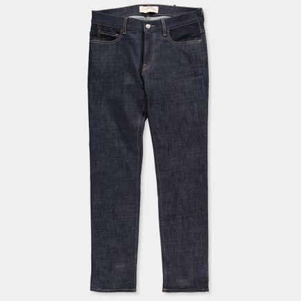 SM001 Slim 5 Pocket Jeans Blue Raw