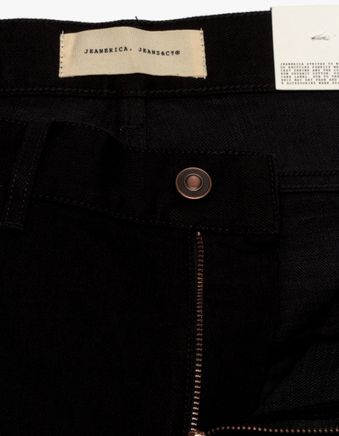 SM001 Slim 5 Pocket Jeans Black Rinse