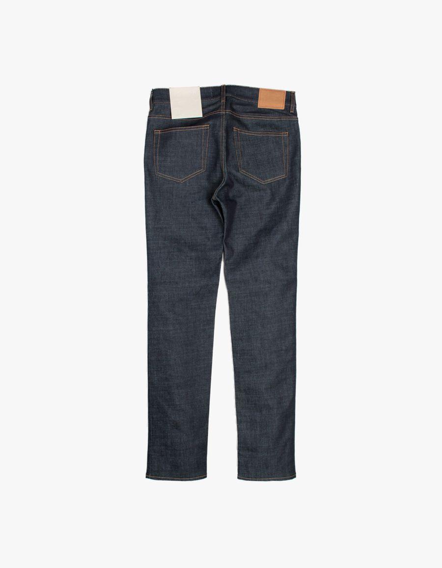 SM001 Slim 5 Pocket Jeans Blue Raw