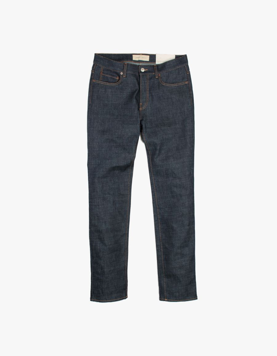 Jeanerica SM001 Slim 5 Pocket Jeans Blue Raw