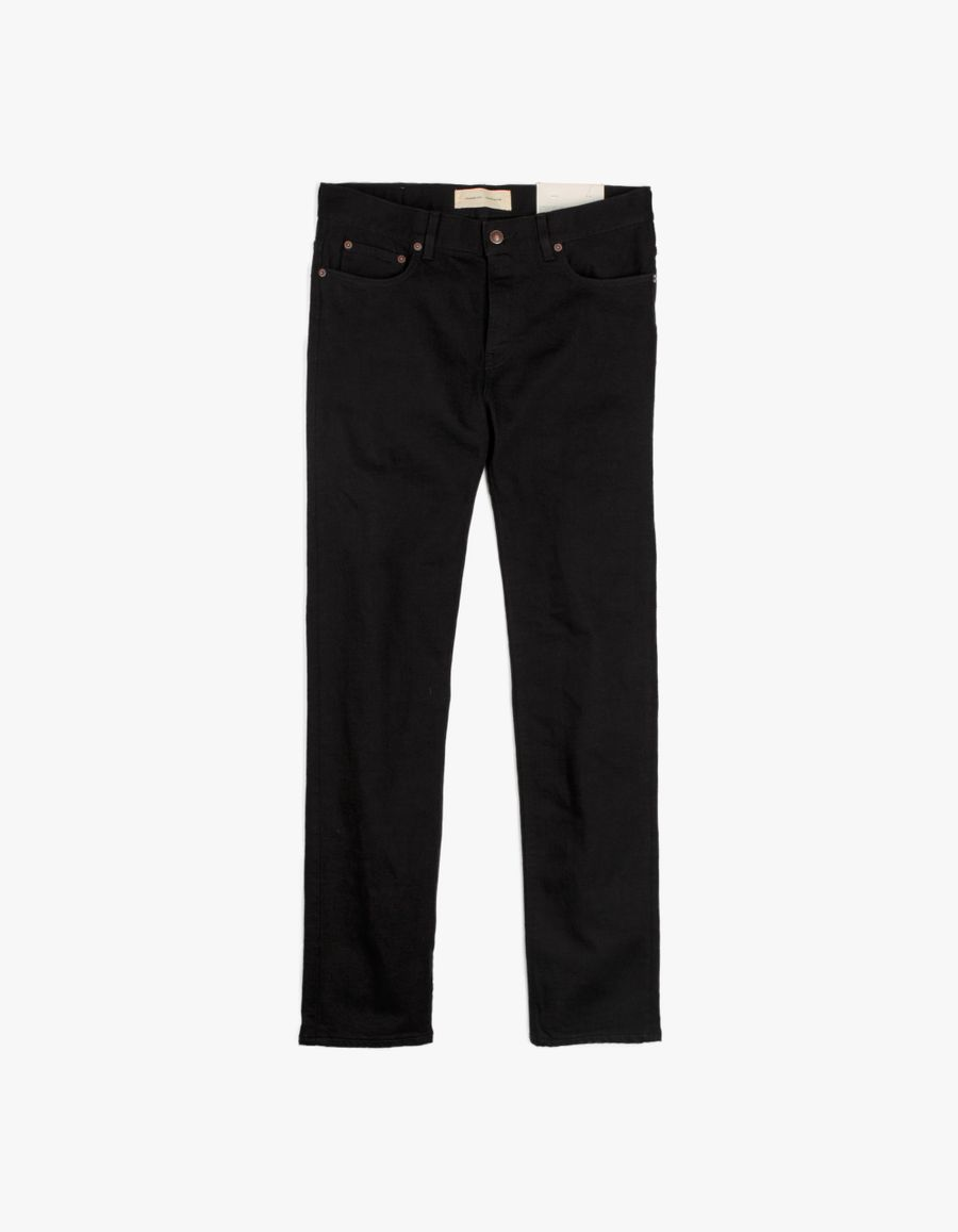 Jeanerica SM001 Slim 5 Pocket Jeans Black Rinse