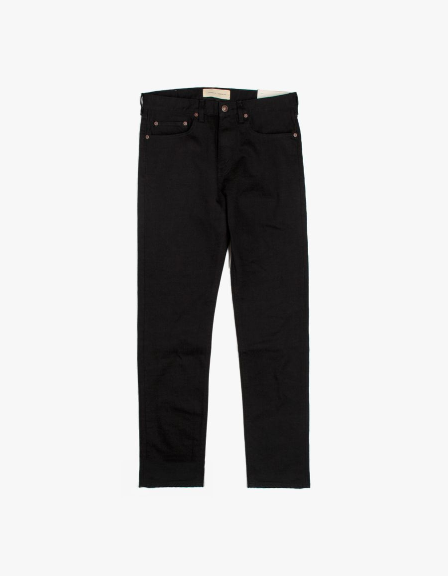 Jeanerica TM005 Tapered 5 Pocket Jeans Black Rinse