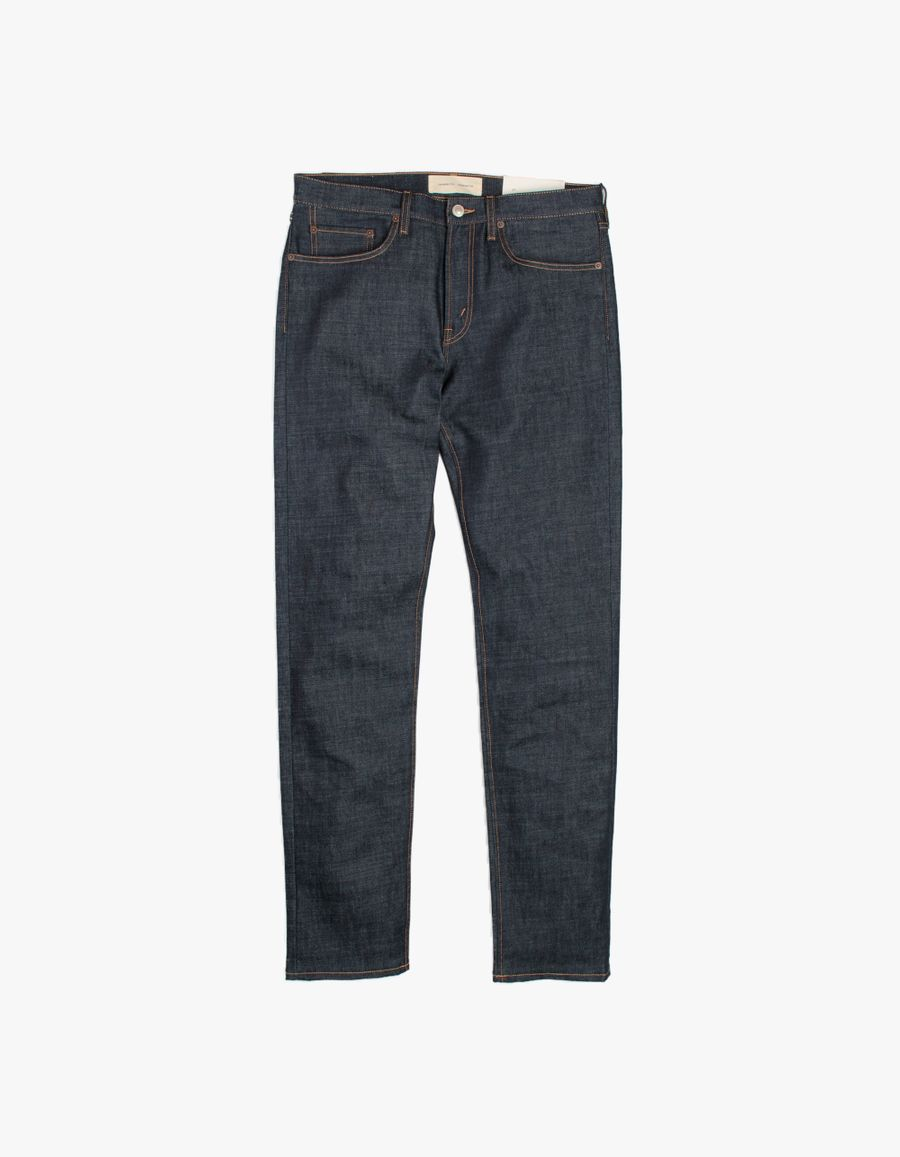 Jeanerica TM005 Tapered 5 Pocket Jeans Blue Raw