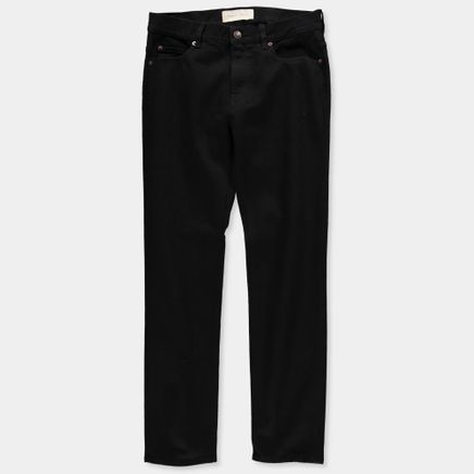 TM005 Tapered 5 Pocket Jeans Black Rinse