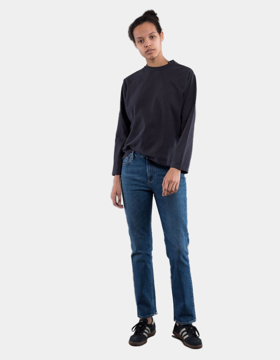 Jeanerica HW005 W' Highwaist Straight 5P Jeans