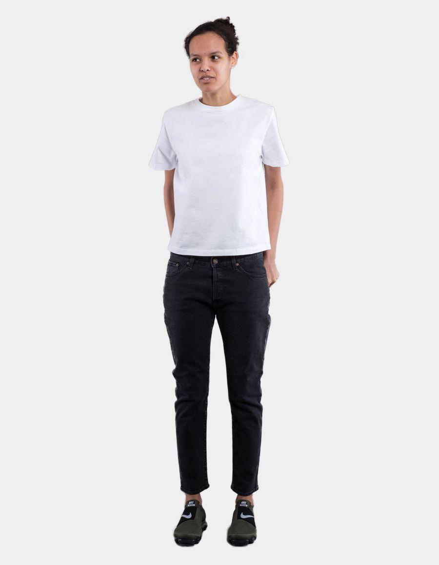 Jeanerica BW009 W' Boyfriend 5 Pocket Jeans Black