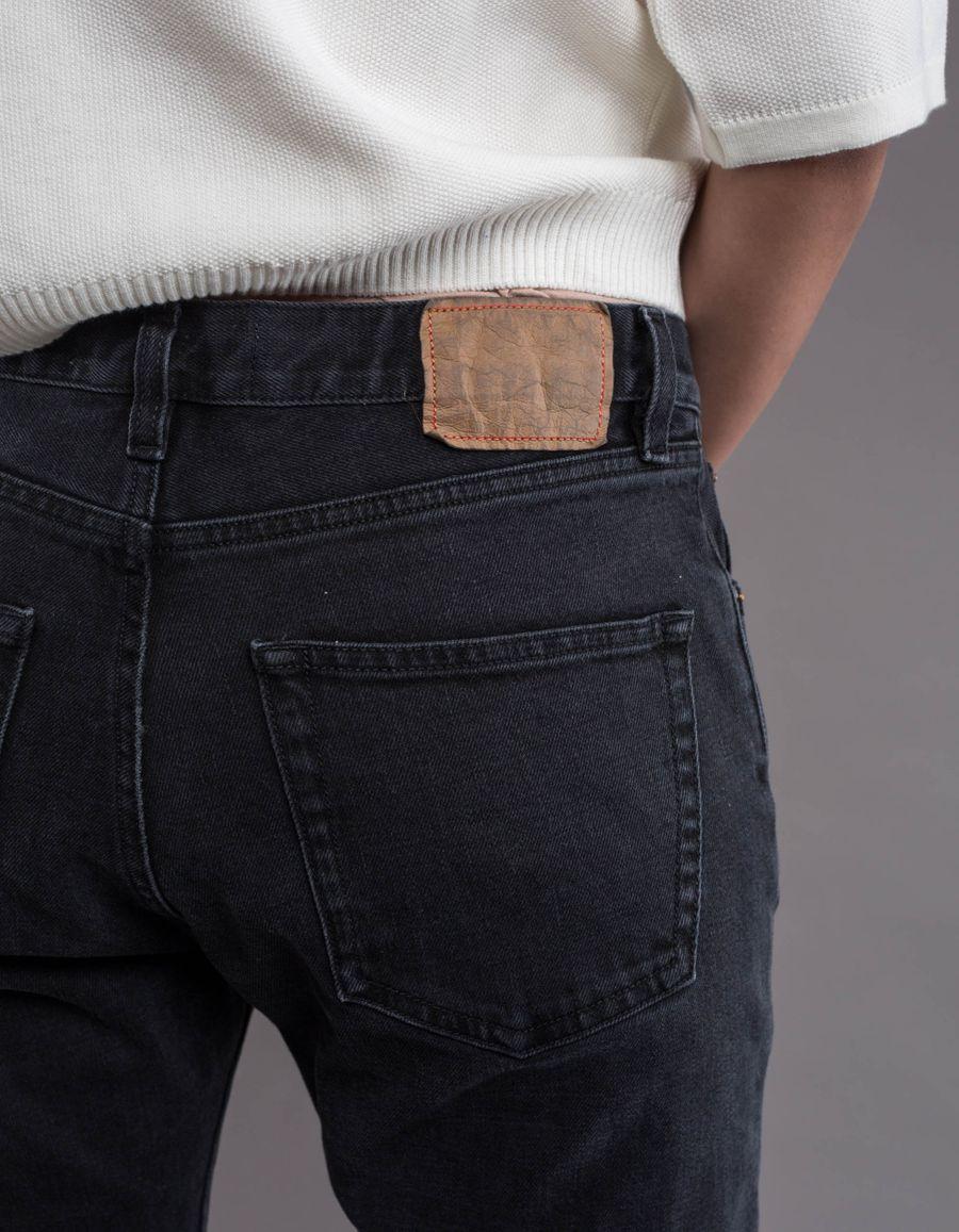 BW009 W' Boyfriend 5 Pocket Jeans Black