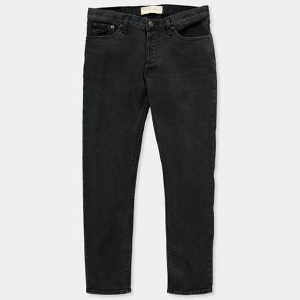 BW009 W' Boyfriend 5 Pocket Jeans Black