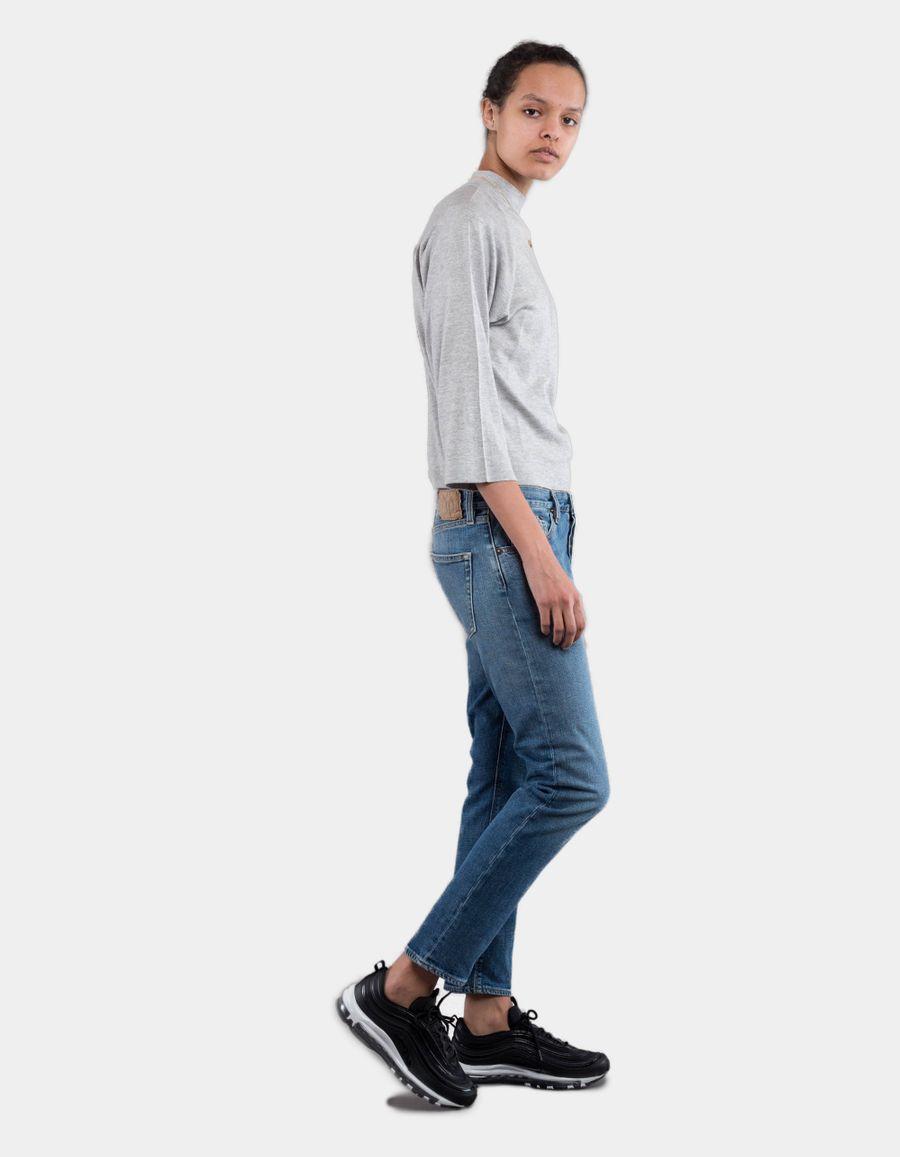 Jeanerica BW009 W' Boyfriend 5 Pocket Jeans Mid Vintage