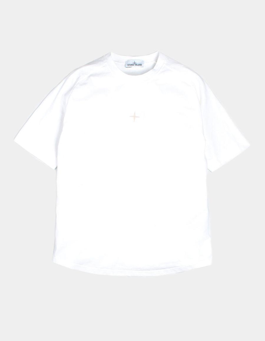 Stone Island 681520719 V0001 - Oversized T-Shirt White