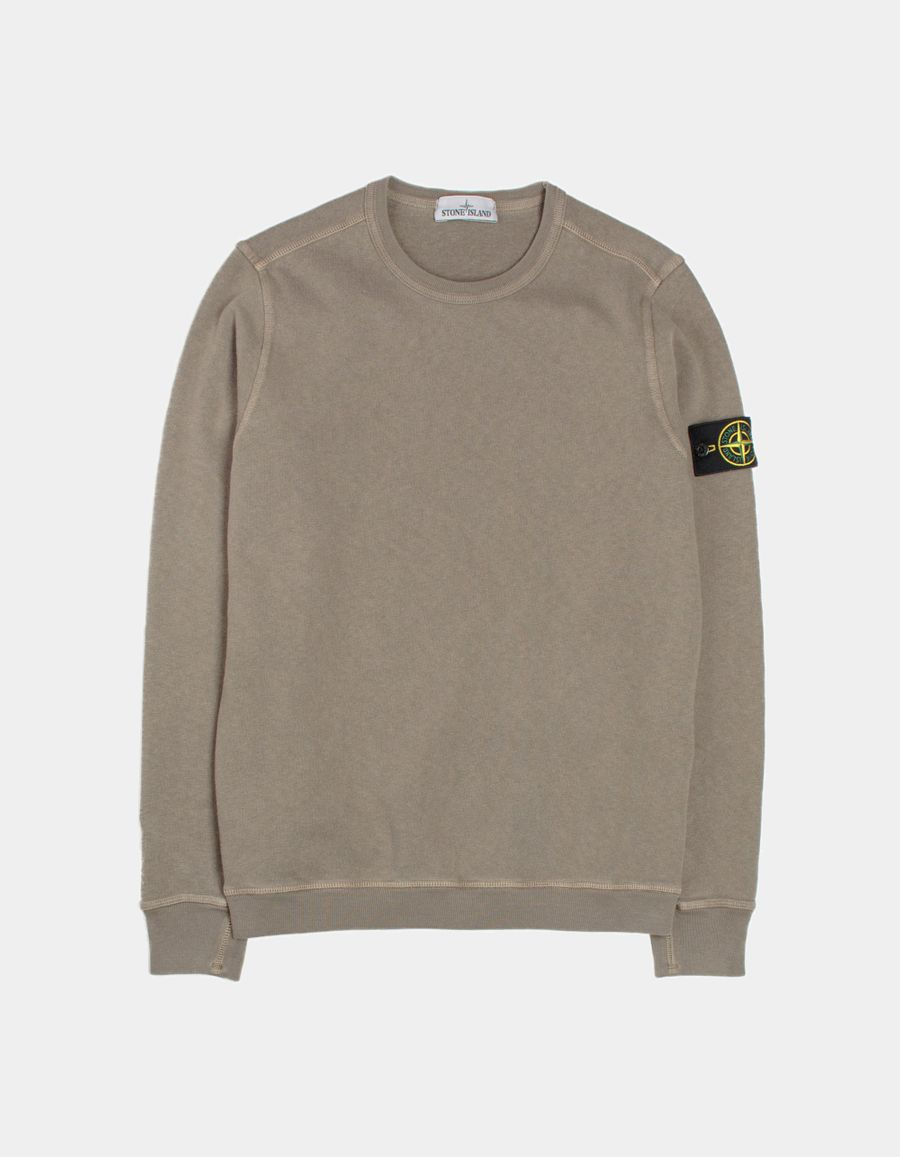 Stone Island Garment Dyed Sweatshirt