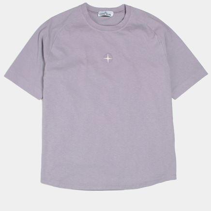 681520719 V0047 Oversized Saddle Neck T-Shirt