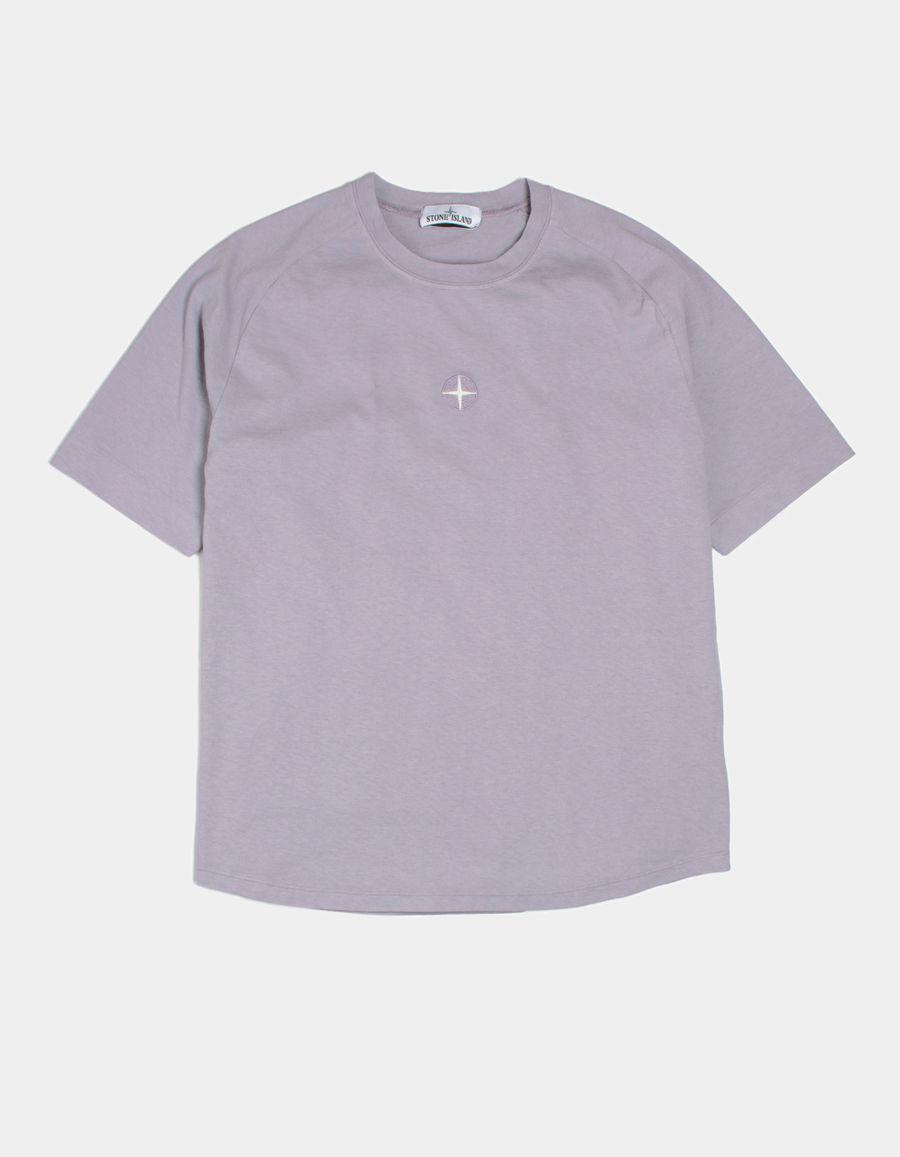 Stone Island 681520719 V0047 Oversized Saddle Neck T-Shirt